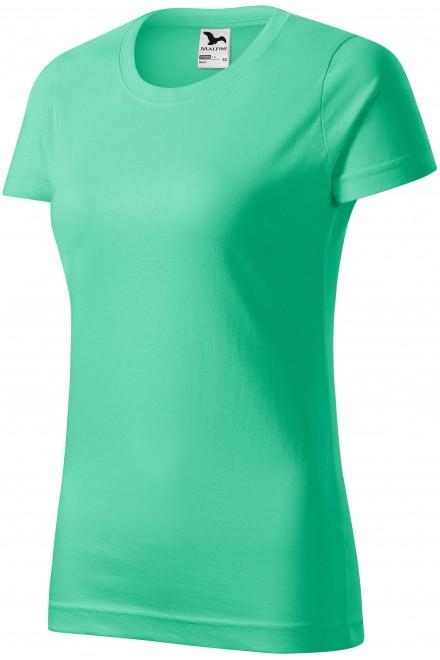Ladies simple T-shirt Mint