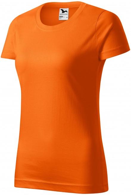 Ladies simple T-shirt Orange