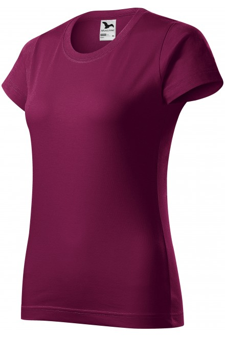 Ladies simple T-shirt Rhododendron