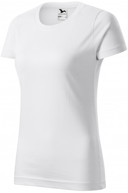 Ladies simple T-shirt White