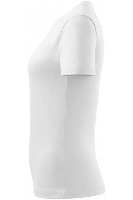 White ladies simple T-shirt