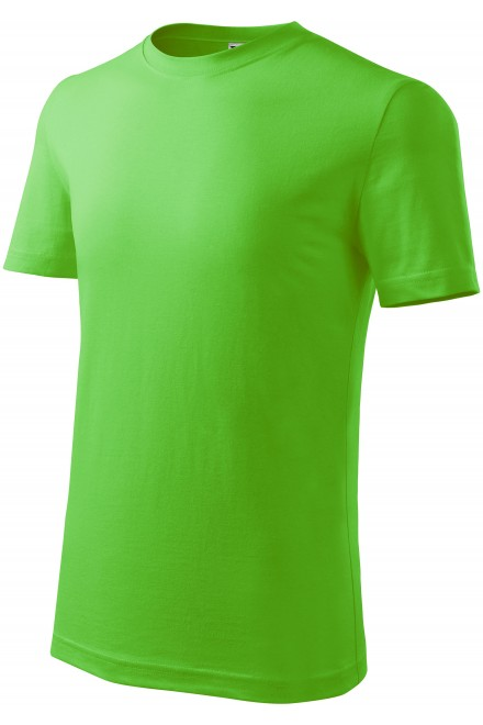 Childrens classic T-shirt Apple green