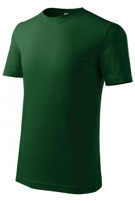 Childrens classic T-shirt Bottle green
