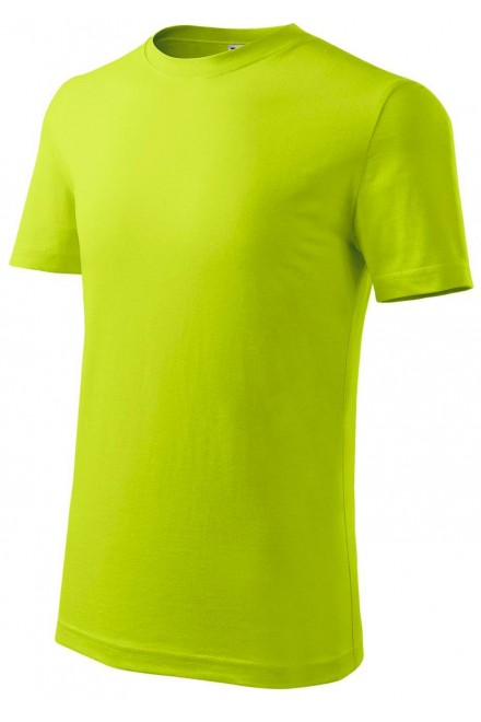 Childrens classic T-shirt Lime green