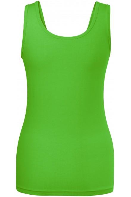 Apple green ladies singlet