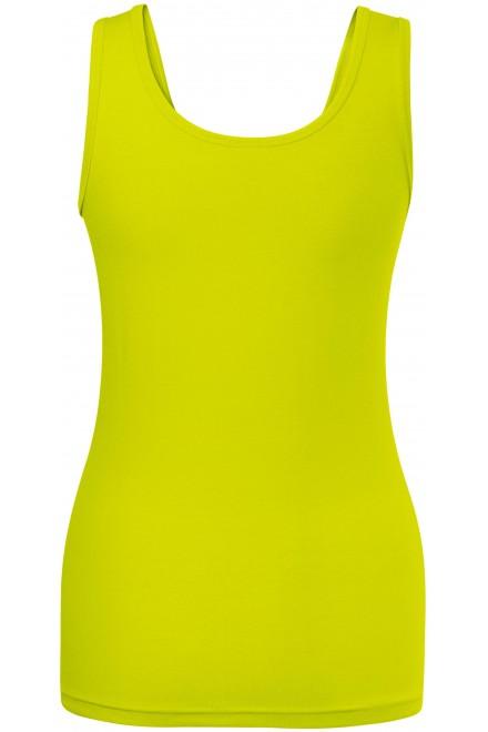 Lime green ladies singlet