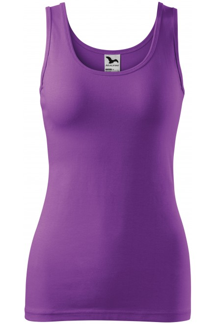 Purple ladies singlet