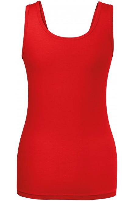 Red ladies singlet