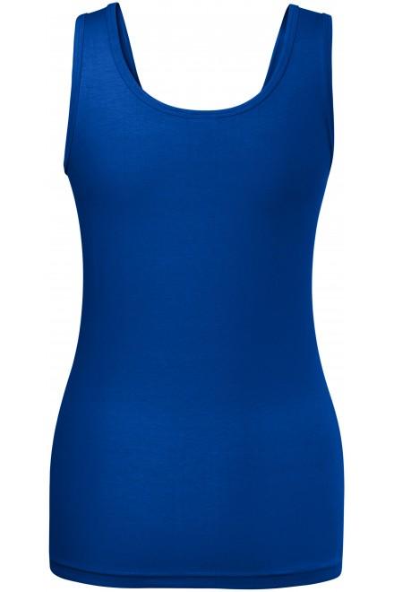 Royal blue ladies singlet