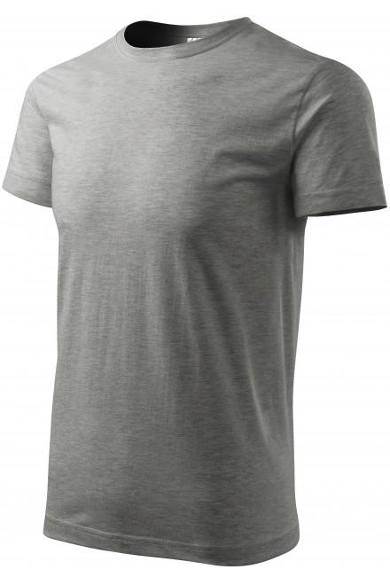Unisex higher weight T-shirt Dark gray melange