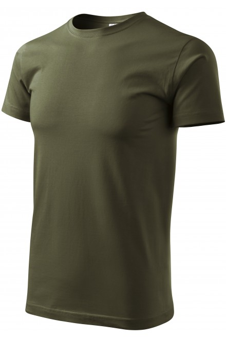 Unisex higher weight T-shirt Military