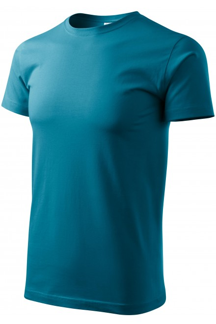 Unisex higher weight T-shirt Turquoise
