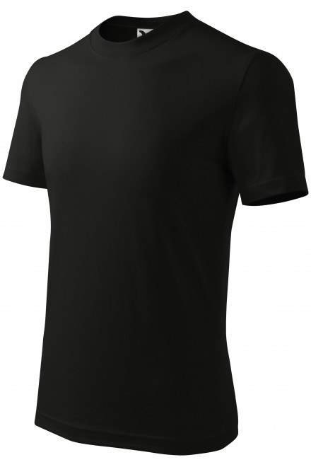 Childrens simple T-shirt Black