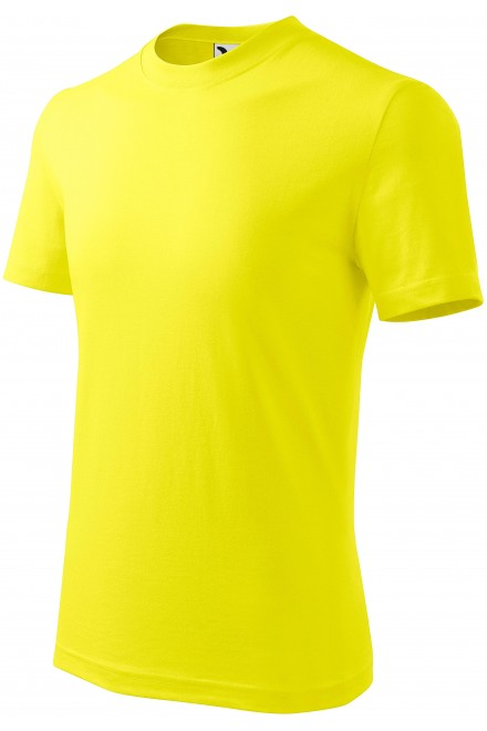 Childrens simple T-shirt Lemon