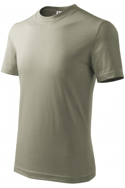 Childrens simple T-shirt Light khaki