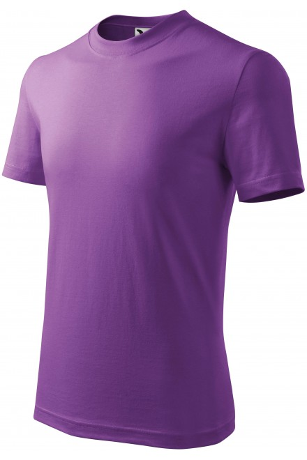 Childrens simple T-shirt Purple