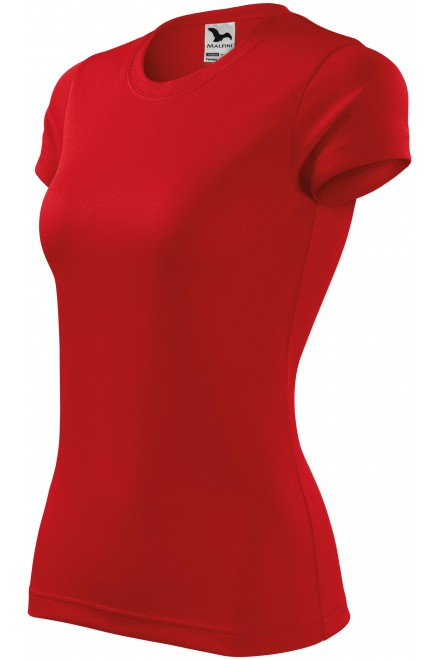 Ladies sports T-shirt Red
