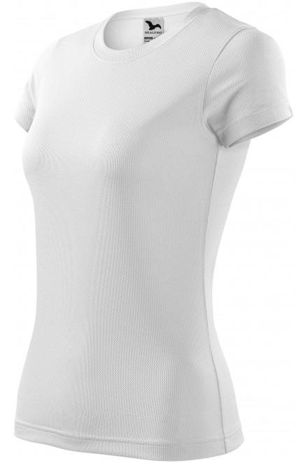 Ladies sports T-shirt White