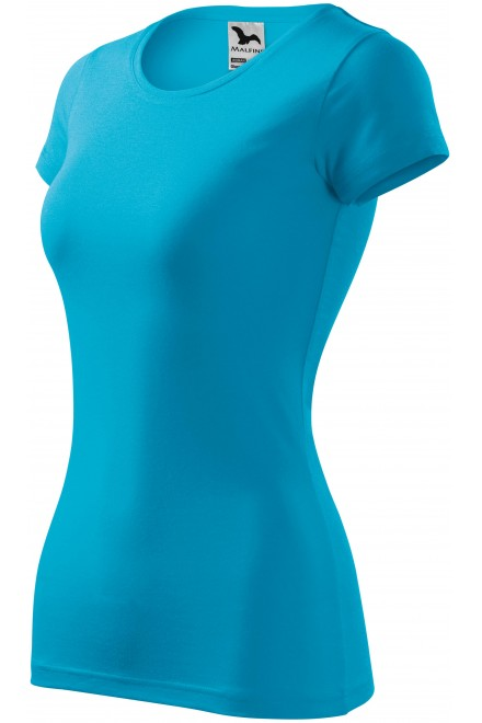 Ladies slim-fit T-shirt Bblue atol