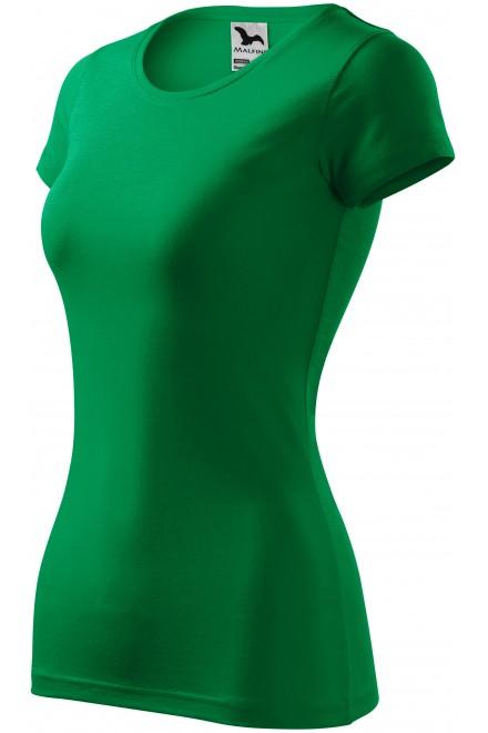 Ladies slim-fit T-shirt Kelly green