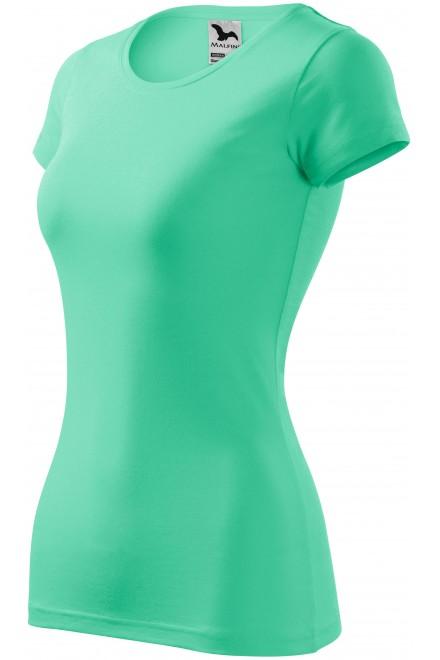 Ladies slim-fit T-shirt Mint
