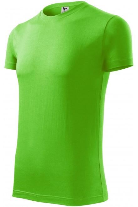 Men's fashionable T-shirt Apple green