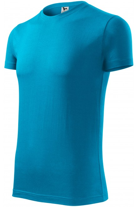 Men's fashionable T-shirt Bblue atol