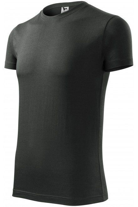 Men's fashionable T-shirt Castor gray