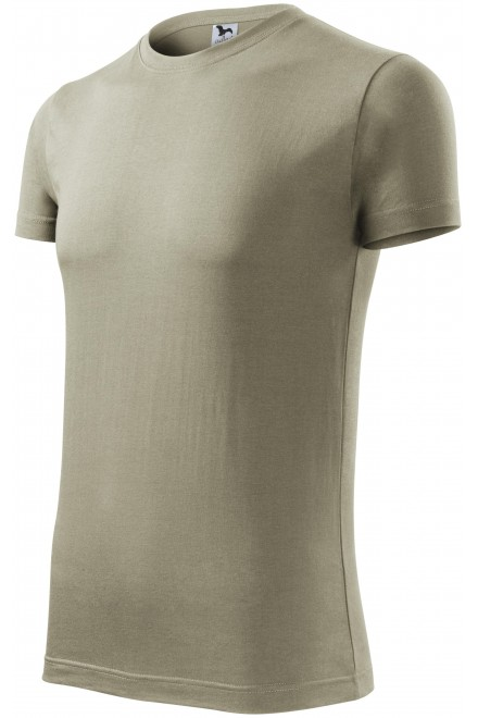 Men's fashionable T-shirt Light khaki