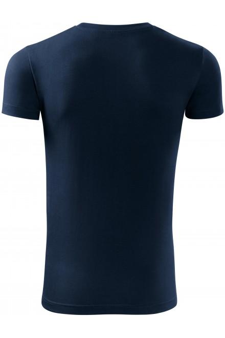 Navy blue men's fashionable T-shirt