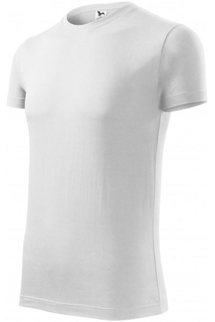 Men's fashionable T-shirt Dark gray melange