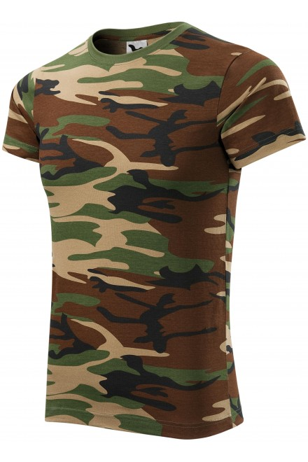 Camouflage T-shirt Camouflage brown
