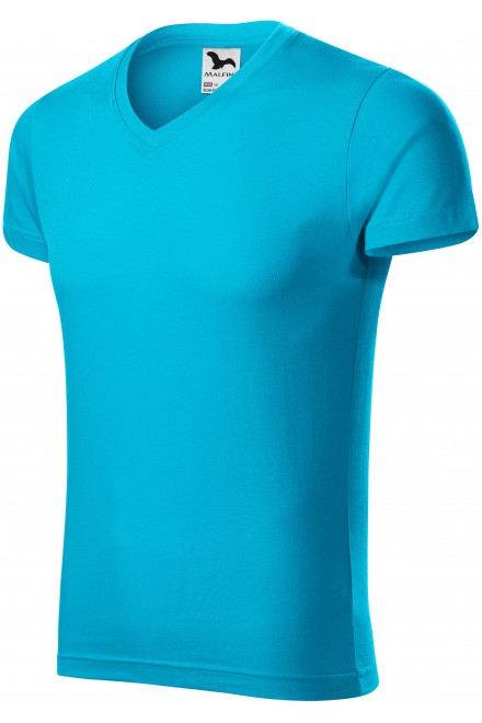 Men's tight-fitting T-shirt Bblue atol