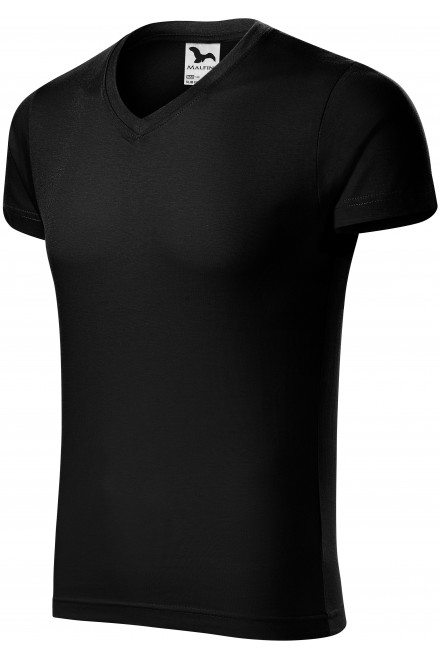Men's tight-fitting T-shirt Black