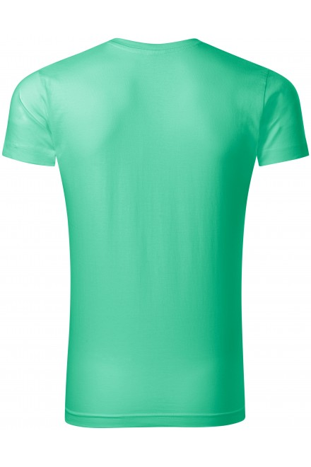 Mint men's tight-fitting T-shirt