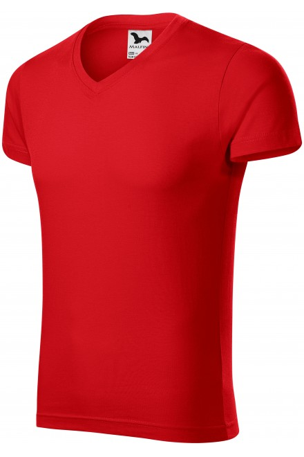 Men's tight-fitting T-shirt Red