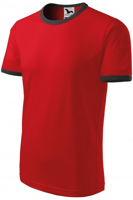 Childrens contrasting T-shirt Red