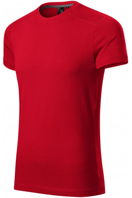 Men's T-shirt decorated Formula red