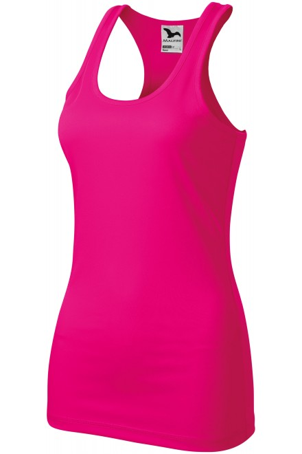 Ladies sports top Neon pink