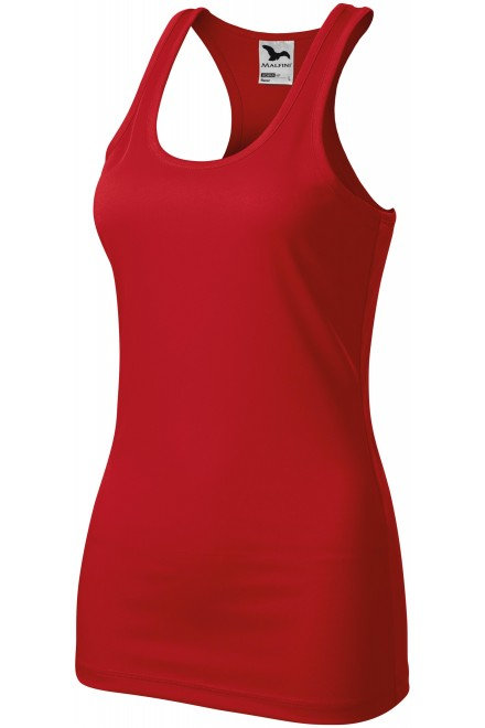Ladies sports top Red