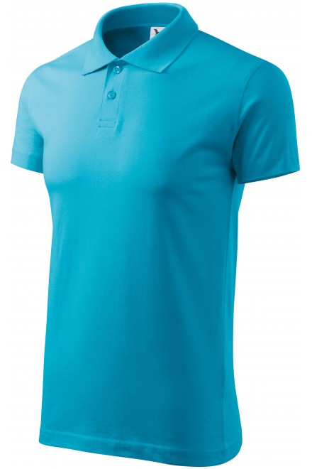 Men's simple polo shirt Bblue atol