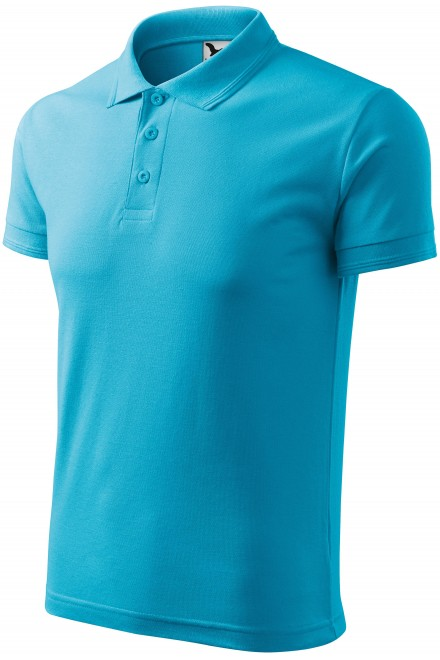 Men's loose polo shirt Bblue atol