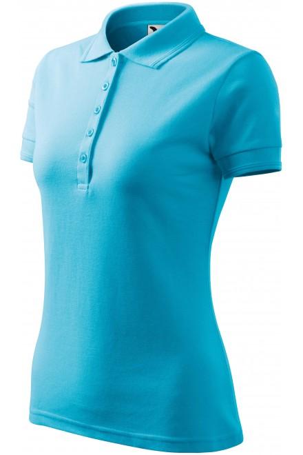 Ladies elegant polo shirt White