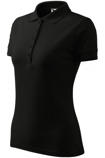 Ladies elegant polo shirt Black