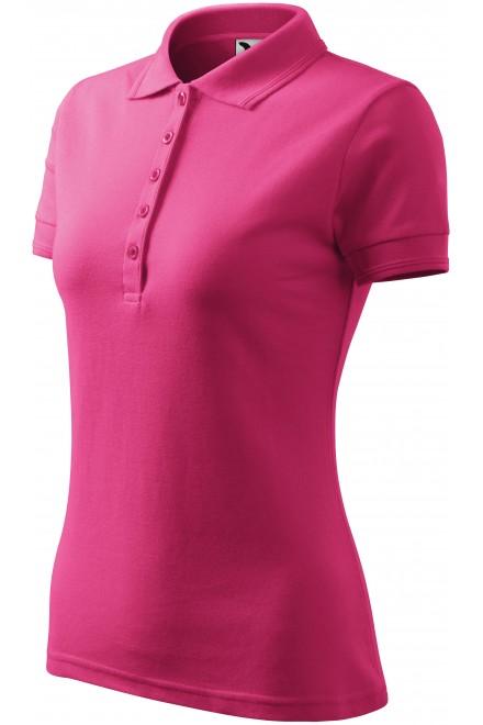 Ladies elegant polo shirt Magenta