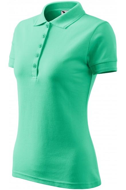 Ladies elegant polo shirt Mint