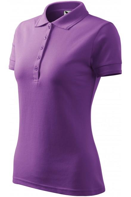 Ladies elegant polo shirt Purple