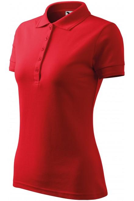 Ladies elegant polo shirt Red
