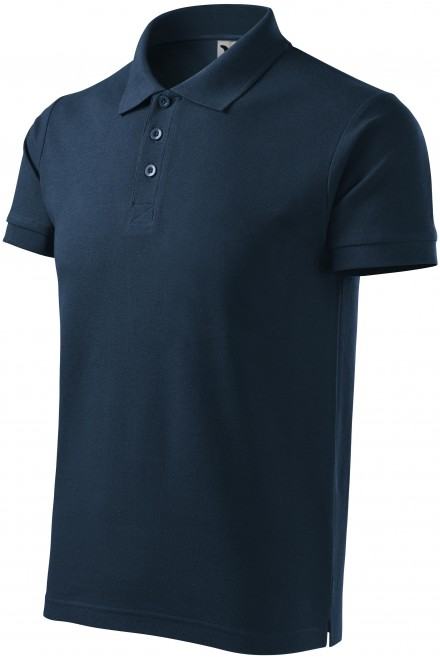 Men's heavier polo shirt Navy blue