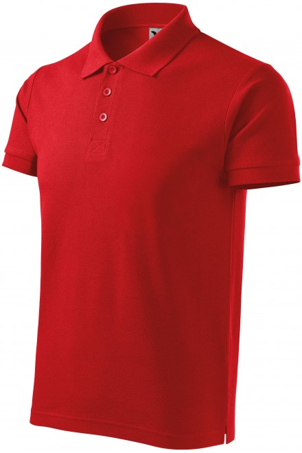 Men's heavier polo shirt Red
